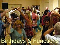 Here are some clips from birthday, family and school PTA functions.