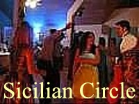 Click for video. The dance is Sicilian Circle, Cylch Sicilian.