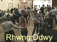 Birthday ceilidh at Dinas Powys, near Cardiff.