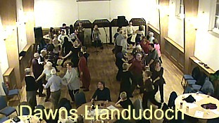 Click for video of Dawns Llandudoch at the Priory, Abergavenny.