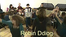 "Video of ""Robin Ddiog"" at the Priory Centre, Abergavenny."