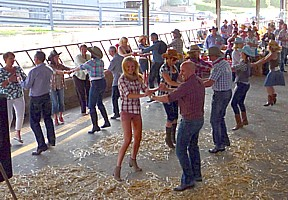Click for Barn Dance photos.