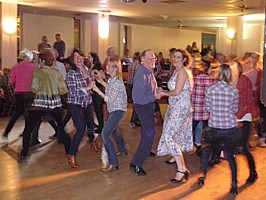 Click for photos of Cardiff Alzheimer's Society fundraising barn dance.