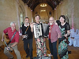 MP3 recording of Saint Donat's Castle wedding ceilidh.