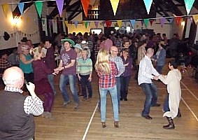 Click for photos of a barn dance in aid ofSave the Children.