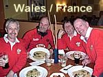 More pictures of the Wales France day.