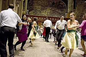 Click for photos of wedding ceilidhs.