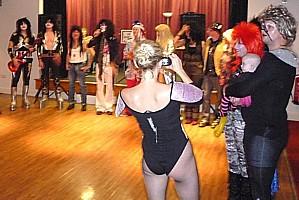 A Glam Rock Fancy Dress Birthday Barn Dance