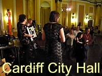 Pictures and video of Cardiff City Hall conference.